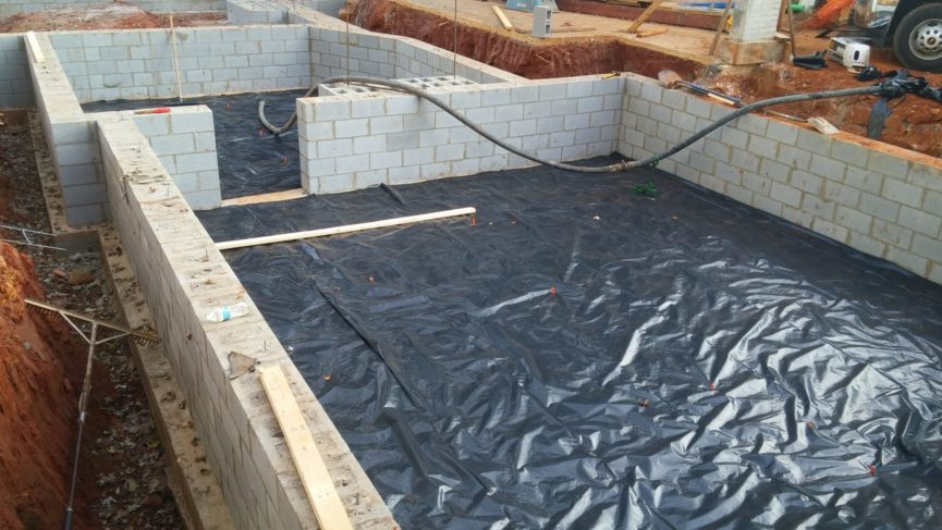 Charlottesville crawl space solutions reynolds for Concrete in crawl space