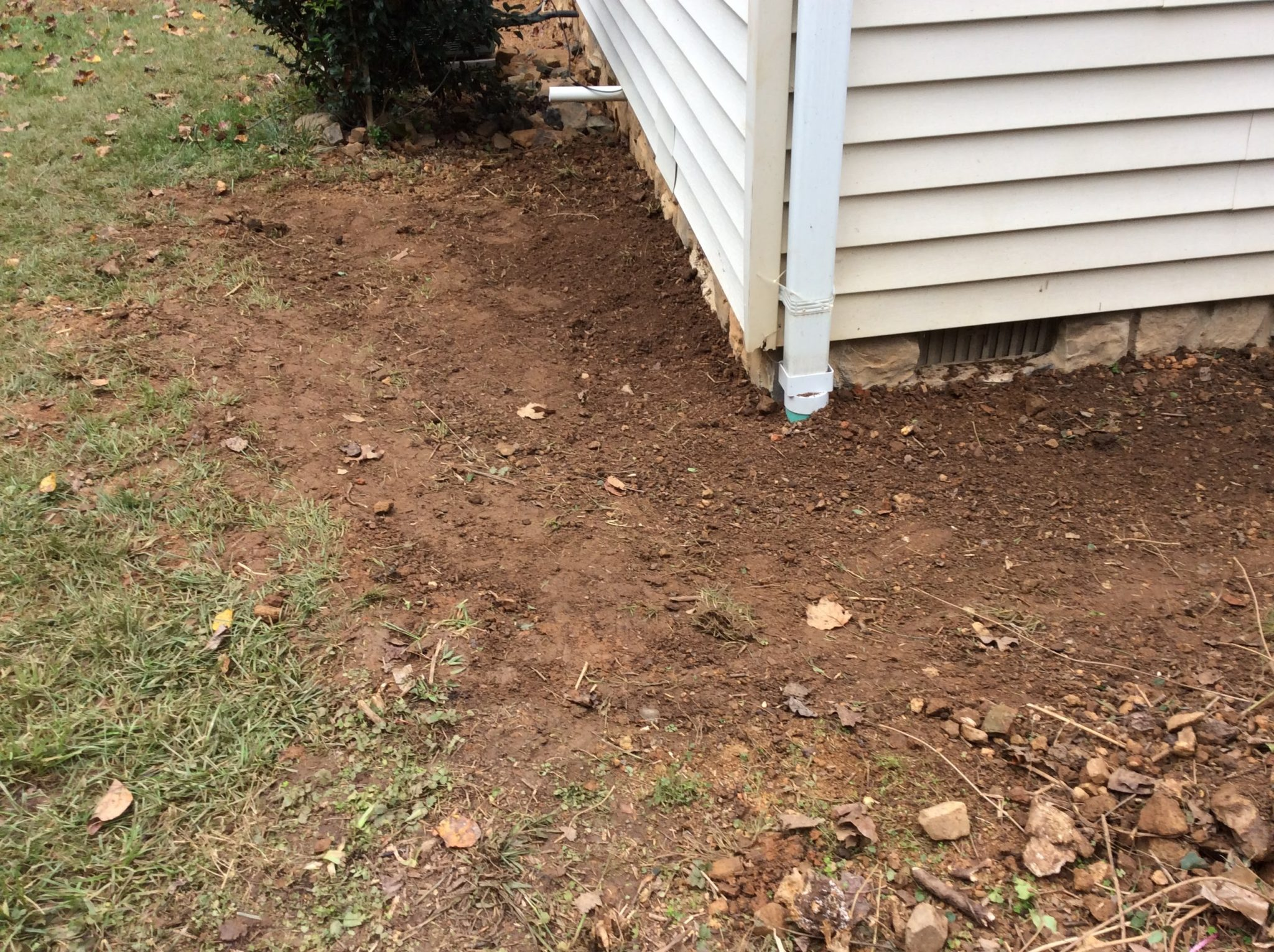 Central Virginia Drainage Solutions Reynolds Contracting Virginia
