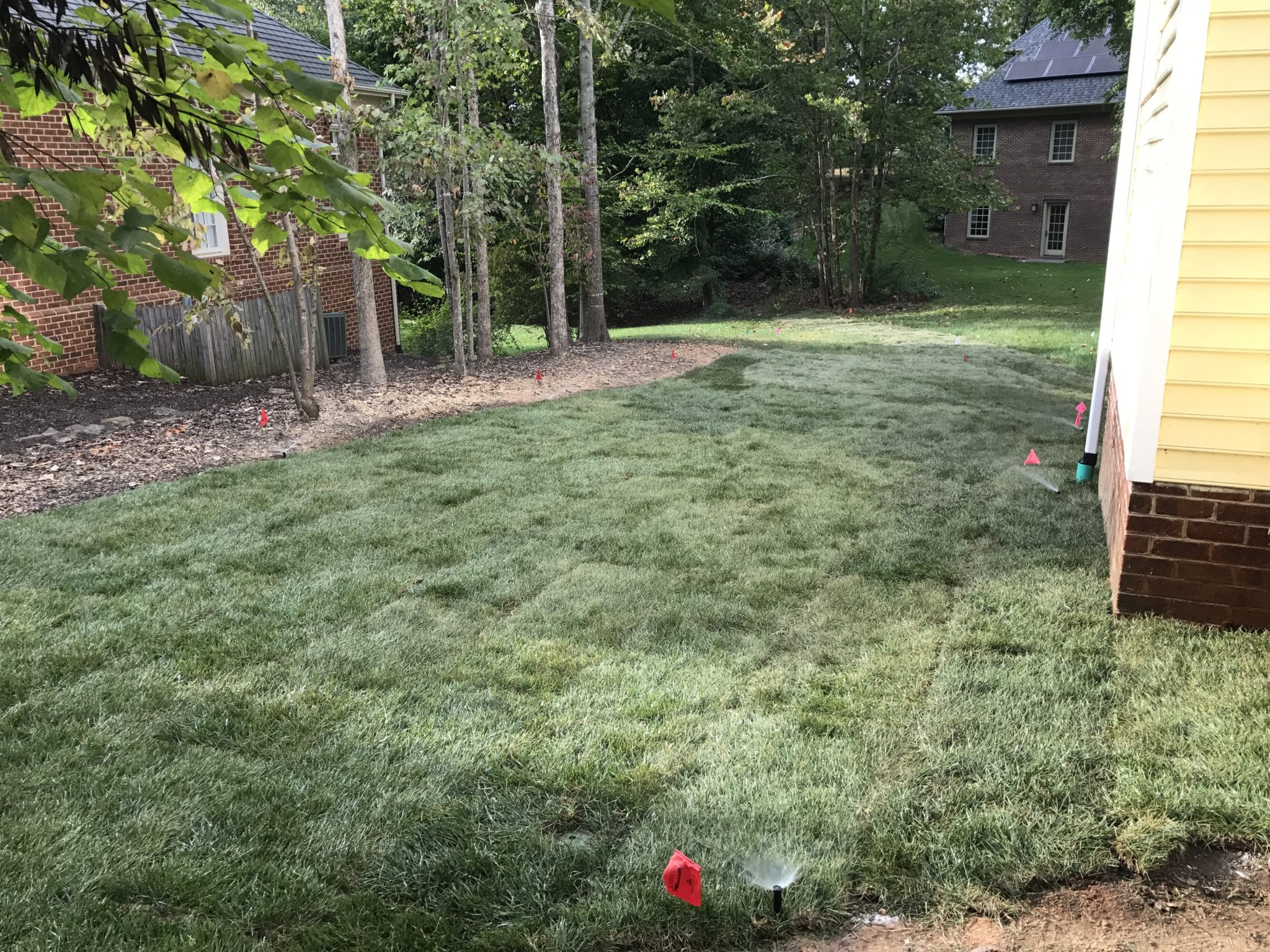 charlottesville sod installation reynolds contracting virginia