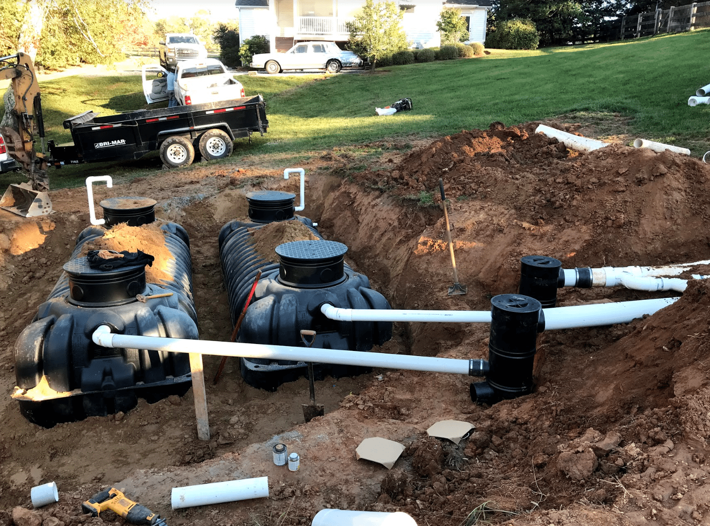 Rainwater Collection Tanks Reynolds Contracting Virginia